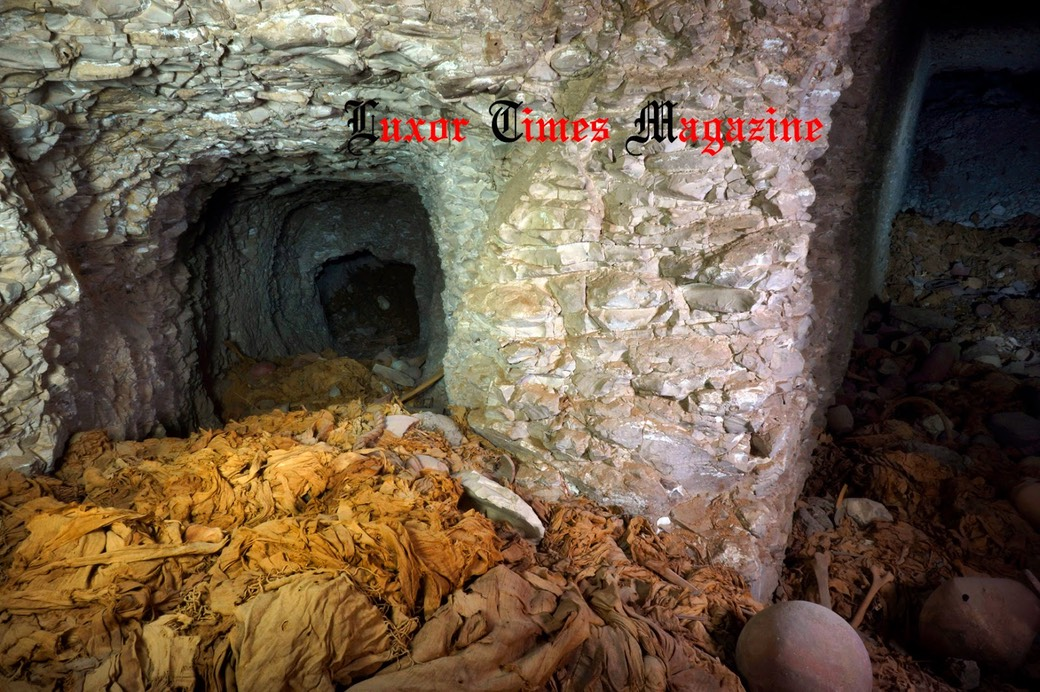 11th Dynasty tomb discovered in Luxor by Luxor Times 2