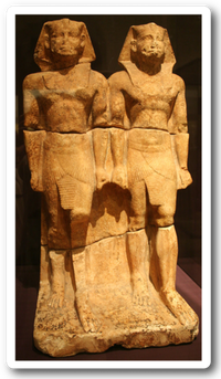 Double statue of Niuserre.