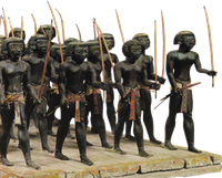 Nubian soldiers.