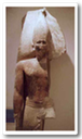 Statue of Snofru, the first king of the 4th Dynasty.